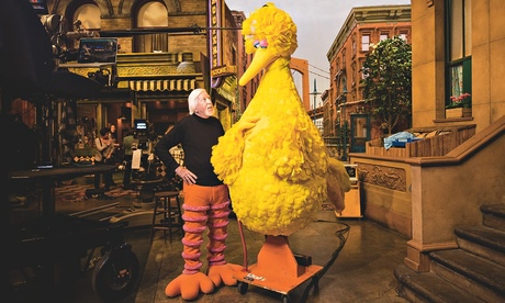 Caroll Spinney and Big Bird
