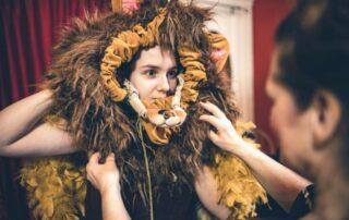 create theatrical costumes